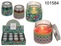 Scented candle Jungle (Blackberry Brasil & Sweet ...
