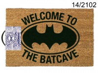 Floor mat, Batman - Welcome to the batcave, ca. ...