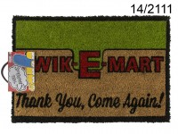 Floor Mat, Kwik-E-Mart, ca. 60 x 40 cm, with ...