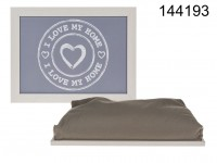 Cushion Lap Tray, I love my home, ca. 43 x 32,5 ...
