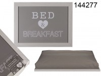 Cushion Lap Tray, Bed & Breakfast, approx. 41 x ...