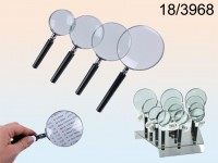 Magnifying Glass, 4 sizes assorted, 36 pcs. per ...