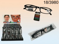 Reading Glasses with Plastic Frame, 5 strength, ...