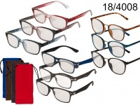 Reading Glasses with plastic frame, 3 strenghths, ...