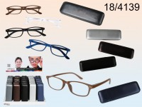 Reading glasses with plastic frame, Urban Style, ...