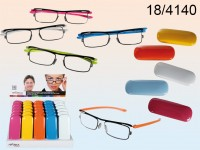 Reading glasses with plastic frame, Colour Style, ...