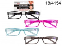 Reading glasses with plastic frame, Neon & more, ...