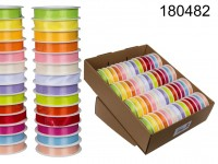 ribbon, Uni-colours, ca. 15 mm x 3 m, 14 colours ...