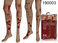 Bloody tights, small blood splatter & large blood ...