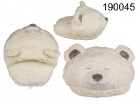 Cosy feet warmer, ice-bear, 100 % polyester, L: ...
