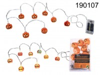 Garland, Pumpkin, with 8 colour changing LED, ca. ...