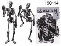 Paper-skeletal, to hang up, halloween, ca. 134,6 ...