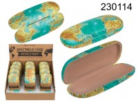 Spectacle Case, World Map, ca. 16 cm , 12 pcs per ...