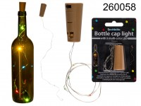 Bottle cap light with 5 multi-colour LED (incl. ...
