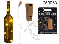 Bottle cap light with 5 warm white star LED ...