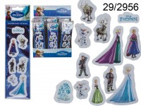 3D stickers, Frozen, ca. 6 cm, 4 series ass., set ...