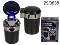 Car Ashtray with LED light (incl. battery) ...