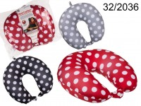 Neck cushion with micro pellet filling, Dots, ca. ...