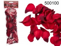 Red rose petals, ca.100 pcs. in polybag with ...
