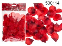 Red rose petals, ca. 150 pcs. in polybag with ...