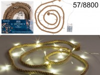 Lightchain, Rope, with 20 warm white LED, L: ...