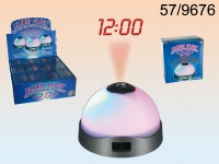 Alarm Clock with digital clock, 3 colourchanging ...