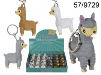 Metal keychain, Plastic Llama with sound & LED ...