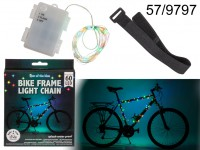 Light chain with 60 LED, ca. 3 m, for the bike ...