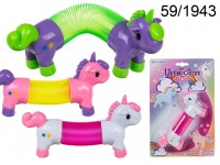 Coil, Unicorn, ca. 14 cm, plastic, 3 colours ...
