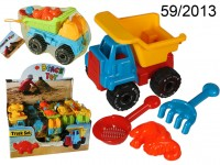 Sand Toy Set with truck, 1 mould, shovel and ...