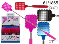 Plastic key chain, extandable fly swatter, ca. 31 ...