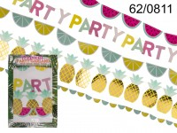 Garland, Tropical Party, L: ca. X m, set of 4 in ...