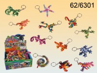 Keychain, Sand filled animals, ca. 8 cm,  12 ...