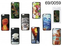 3D plastic cover, Motives, for iPhone 6 Plus, 8 ...