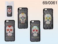 3D plastic case, Coloured Skull, for iPhone 6, ...