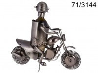 Metal bottle holder, Biker II, ca. 38 x 27 cm, ...