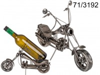 Metal bottle holder, Motorbike IV, ca. 32 x 22 ...