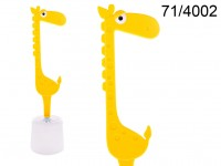 Giraffe toilet brush, ca. 12 x 12 x 45 cm, ABS ...