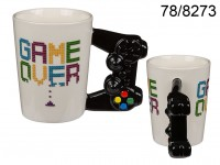 Mug with controller handle, Game over, ca. 11 x 9 ...