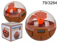 Alarm clock, Basketball, ca. 10 cm, plastic, for ...