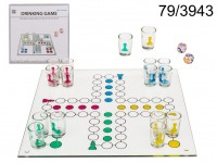 Ludo Drinking Game  with 16 glasses & 2 dices, ...