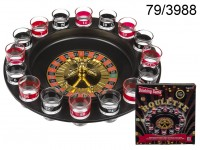Drinking Game, Roulette with 16 glasses and 2 ...