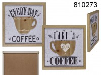Wooden sign, Coffee, cup 3 D design,  approx. 30 ...