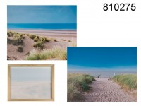 Canvas print, dune, linen on wooden frame, ca. 40 ...