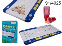 Air Mattress, Pool Pong Game, approx. 152 x 76 x ...