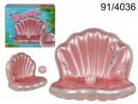 Inflatable Clam Shell & Pearl Pool Float & 2 ...