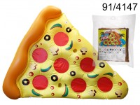 Air mattress, Pizza slice, ca. 180 x 150 cm, in ...