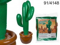 Inflatable Cactus, H: ca. 86 cm, in polybag for ...