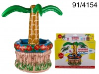 Inflatable beverage cooler, Palm Tree, H: ca. 60 ...