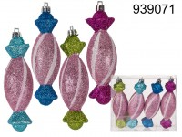 Christmas ornament candy I, ca. 12 x 3 m, 4 ...